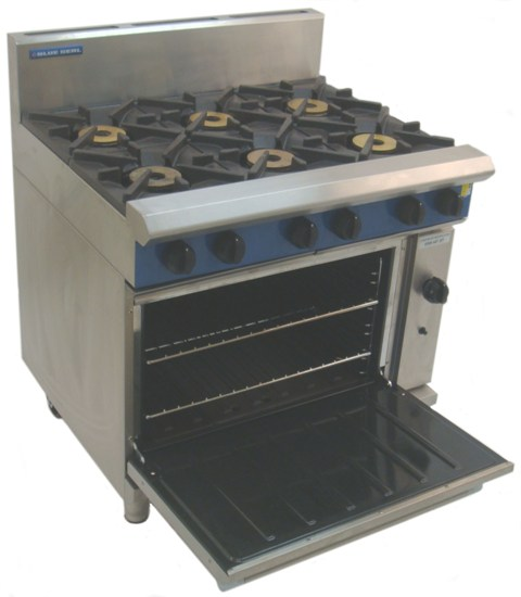 Gas 6 Burner Oven With Fan